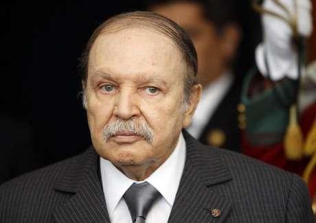 Abdelaziz Bouteflika em imagem de arquivo