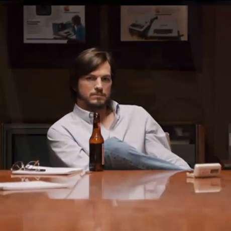 Longa-metragem traz Ashton Kutcher no papel de Steve Jobs, cofundador da Apple falecido em 2011 vítima de câncer