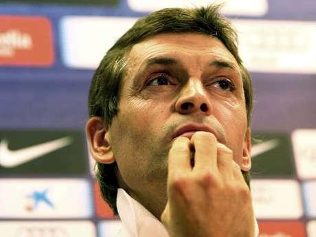 <p>Tito descobriu o câncer em 2011 e, dois anos depois, teve que deixar o Barcelona para só tratar da doença</p>