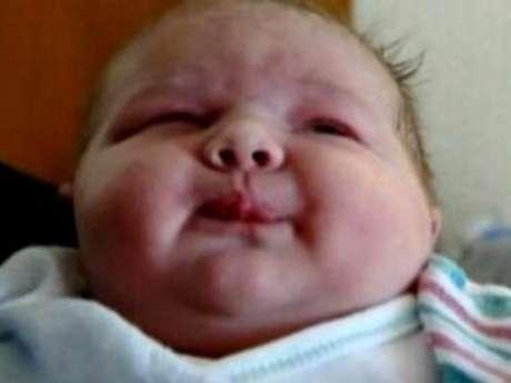 Bebê nasceu sem qualquer complicação