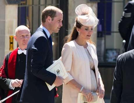 Kate espera seu primeiro filho do casamento com o príncipe William