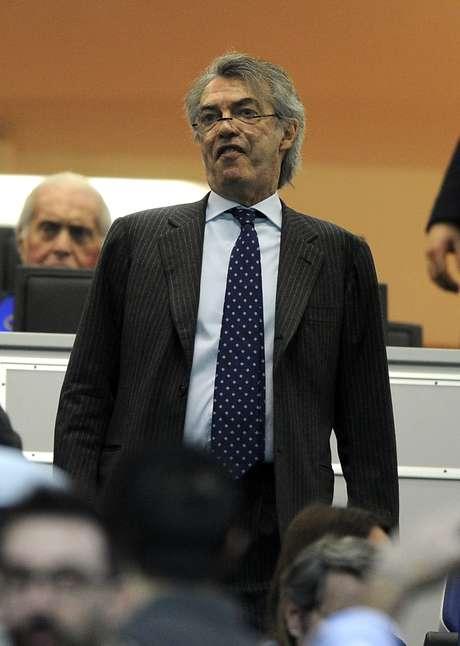 <p>Massimo Moratti comanda a Inter de Mil&atilde;o desde 1995</p>