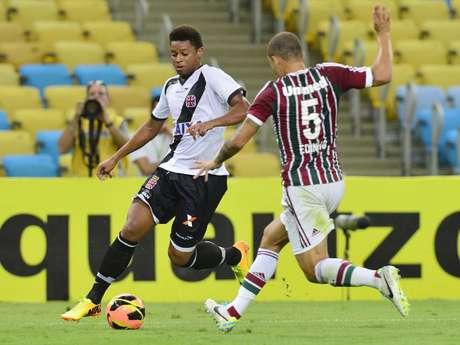 <p>Revelado pelo Santos, André reencontra a torcida com a camisa do Vasco</p>