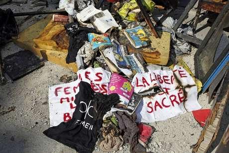 A sede do Femen e o flat da líder do grupo feminista da Ucrânia foram queimadas
