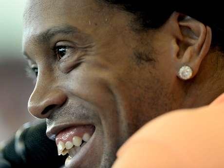 <p>Sumido no jogo de ida, Ronaldinho é a grande esperança do Atlético-MG contra o Olimpia</p>