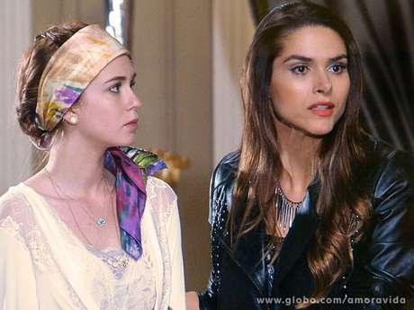 <p>Nicole saberá a verdade sobre Leila e Thales pouco antes de morrer</p>