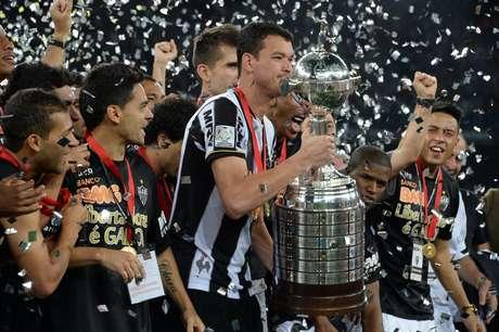<p>Atlético-MG é campeão da Libertadores de 2013, mas é só 15º em ranking da CBF dos últimos cinco anos</p>