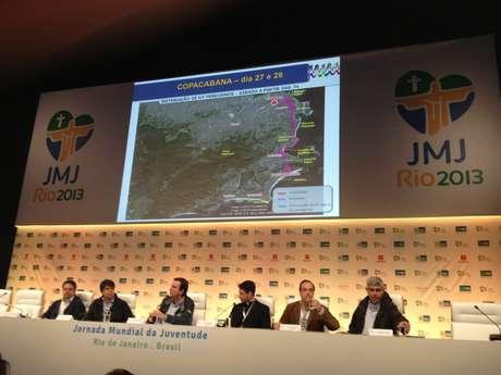 <p>Nova rota da peregrinação dos participantes da Jornada Mundial da Juventude foi anunciada após o cancelamento de Guaratiba</p>