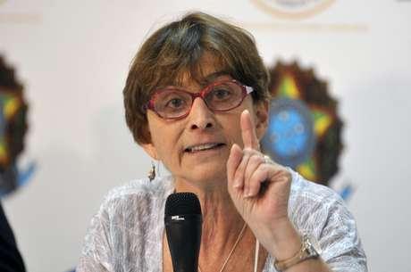 A presidente da Sociedade Brasileira para o Progresso da Ciência, Helena Nader