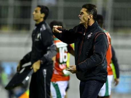 <p>Treinador do Atlético valorizou o ponto conquistado no empate diante do São Paulo</p>