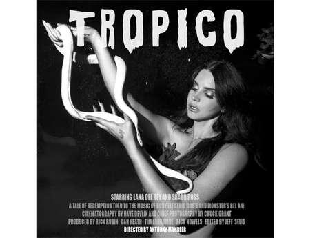 Lana Del Rey estrelará junto com o modelo albino Shaun Ross o curta-metragem 'Tropico', da própria cantora