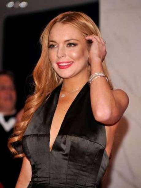 <p>Lindsay Lohan ainda comentou a polêmica traição de Kristen Stewart</p>