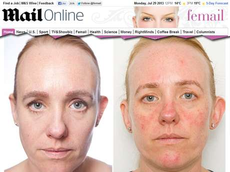 <p>Repórter fica um mês sem tirar a maquiagem e percebe efeitos negativos na pele</p>