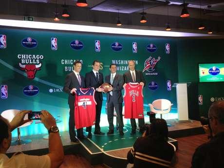Anúncio do preço dos ingressos para o duelo entre Wizards e Bulls foi feito nesta terça-feira