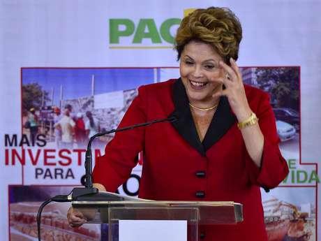 <p>Presidente Dilma concedeu entrevista coletiva durante visita ao Rio Grande do Sul</p>