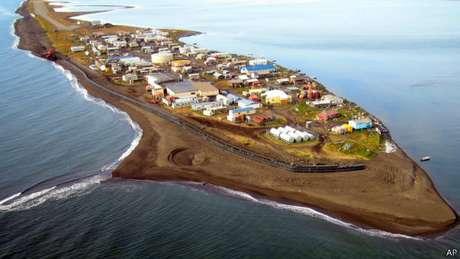 Vila de Kivalina, no Alasca, poderá desaparecer do mapa americano
