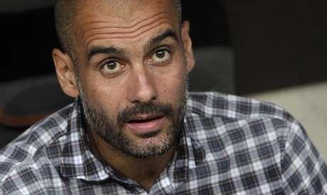<p>Pep Guardiola tem sido questionado por jogadores</p>