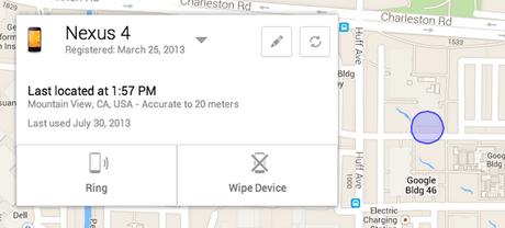 Ferramenta permite localizar em mapa os dispositivos Android