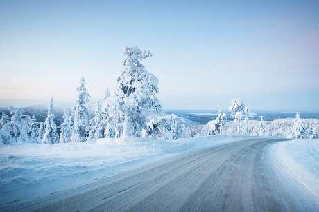 Com temperaturas que chegam a -40°C, a Finlândia tem no frio a sua maior atração