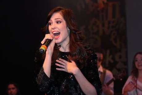 Sophia Abrahão fez uma participação especial no musical 'Tudo Por Um Popstar', que está em cartaz no Teatro Folha, em São Paulo
