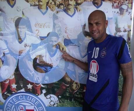 Criticado pela torcida, Souza espera superar marca do atacante Zé Carlos, campeão brasileiro em 1988