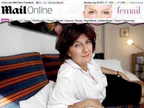 <p>Sophie Fontanel diz que mulher tem que ter liberdade para decidir se quer ou não ter uma vida sexual</p>
