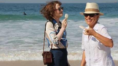 <p>Na trama, a atriz faz par romântico com a personagem da australianaMiranda Otto</p>