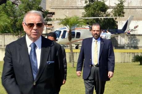 <p>José Maria Marin afastou dois funcionários da CBF após liquidação do Banco Rural</p>