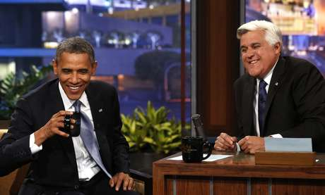 <p>Obama participou pela sexta vez do programa &#39;The Tonight Show&#39; - a quarta como presidente</p>