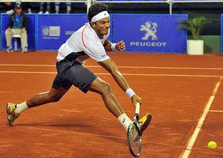 <p>Feijão se tornaria o melhor tenista do País caso chegasse à semifinal</p>