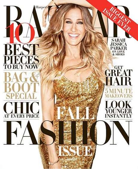 Sarah Jessica Parker é capa da edição de setembro da 'Haper's Bazaar'