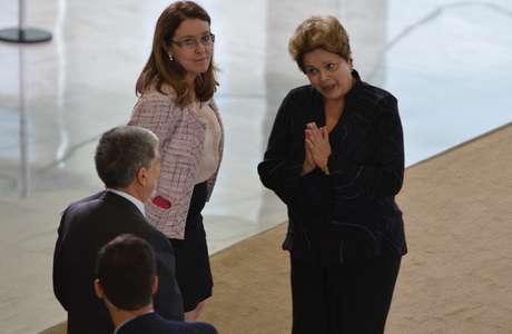 <p>A presidenteDilma Rousseff e o ministro da Defesa, Celso Amorim</p><p></p>