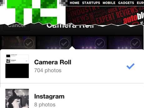 Aplicativo agora dá acesso à pasta do iPhone e do iPad onde fotos com filtros são salvas