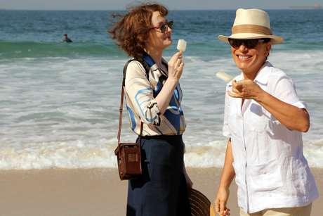 <p>Glória Pires e Miranda Otto são as protagonistas do filme 'Flores Raras', que conta a história de amor entre Elizabeth Bishop e Lota de Macedo Soares</p>