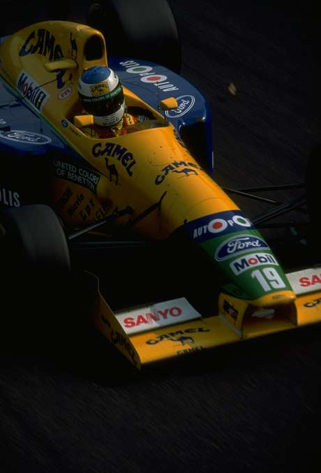 Carro foi utilizado por Michael Schumacher em 1991