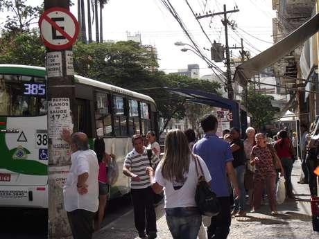 A paralisação dos motoristas de ônibus prejudicou os passageiros em Campinas (SP)