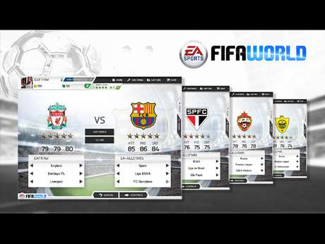 'Fifa World' terá os populares modos Ultimate Team e Seasons