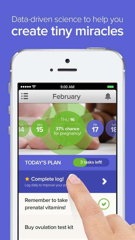 Aplicativo para iPhone promete ajudar casais a engravidarem