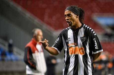 Ronaldinho é a grande estrela do Atlético-MG, que participa pela primeira vez do torneio internacional
