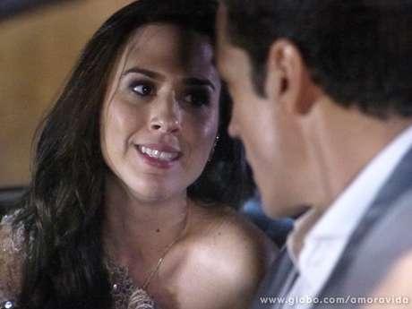<p>Valdirene e Ignácio em cena de 'Amor à Vida'</p>