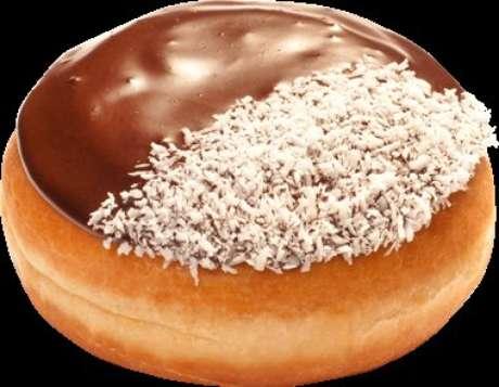 <p>A Chocolate and Bavarian é vendido somente nas lojas da Bulgária e tem dois recheios: um de chocolate e outro de um creme típico do país. Na cobertura, vem chocolate e raspas de coco</p>