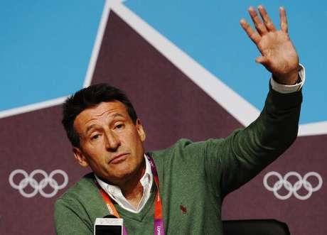 <p>O ex-atleta Sebatian Coe, chefe do comitê organizador das Olimpíadas de Londres em 2012</p>