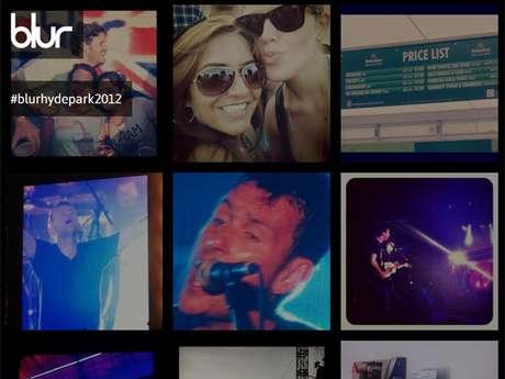 Em seu site oficial, Blur fez timeline com fotos enviadas por fãs