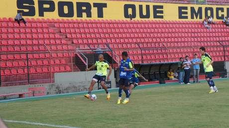 Martelotte fez apenas recreativo e não deu dicas sobre equipe que entra em campo diante do Ceará