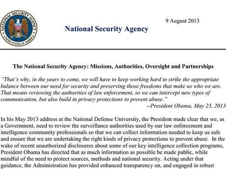 Agência publicou documento de 7 páginas esclarecendo alguns de seus procedimentos