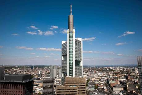 <p>Commerzbank, Frankfurt, Alemanha</p>