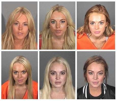 Compilação de fotos da atriz norte-americana Lindsay Lohan divulgadas por órgãos policiais dos EUA durante os anos. Apesar do retorno às telas com novo filme de suspense, pairam dúvidas sobre próximos trabalhos da atriz.