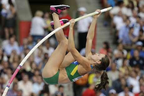 <p>Fabiana Murer ficou com a quinta melhor marca</p>