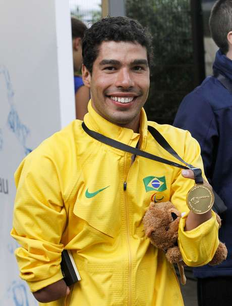 <p>Brasileiro Daniel Dias conseguiu revanche sobre rival americano</p>