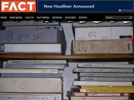 <p>O material pertenceu ao famoso produtor musical&nbsp;Martin Hannett, morto em 1991</p>